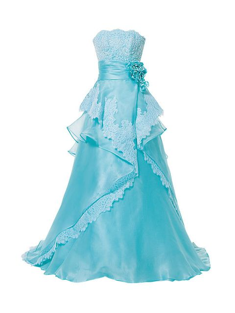 Blue, Aqua, Dress, Teal, One-piece garment, Day dress, Turquoise, Gown, Electric blue, Satin,