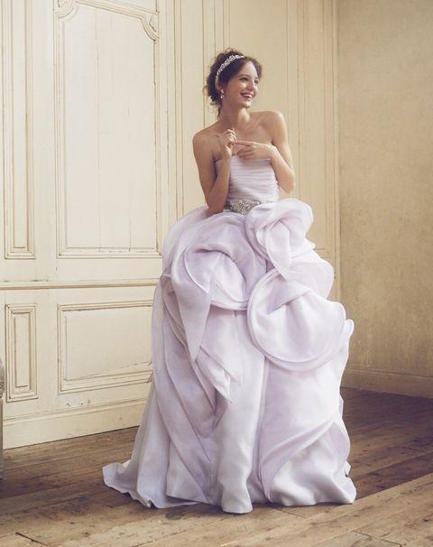 Gown, Wedding dress, Dress, Clothing, Bridal clothing, Bride, Bridal party dress, Fashion model, Bridal accessory, Shoulder,