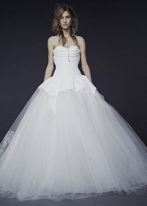 Clothing, Sleeve, Dress, Shoulder, Bridal clothing, Textile, Photograph, Joint, White, Gown,