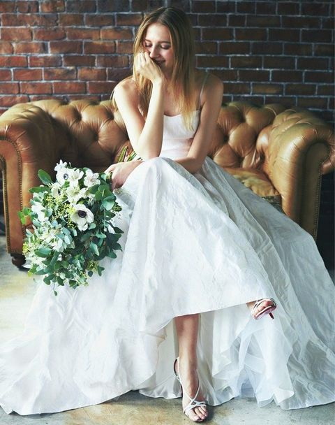 Wedding dress, Gown, Dress, Clothing, Bridal clothing, Bride, Bridal party dress, A-line, Bridal accessory, Fashion model,