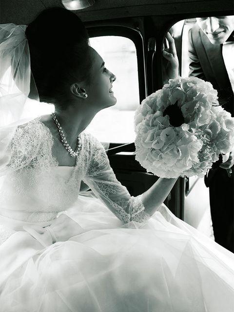 White, Bride, Photograph, Wedding dress, Black, Gown, Dress, Bridal clothing, Monochrome photography, Black-and-white,