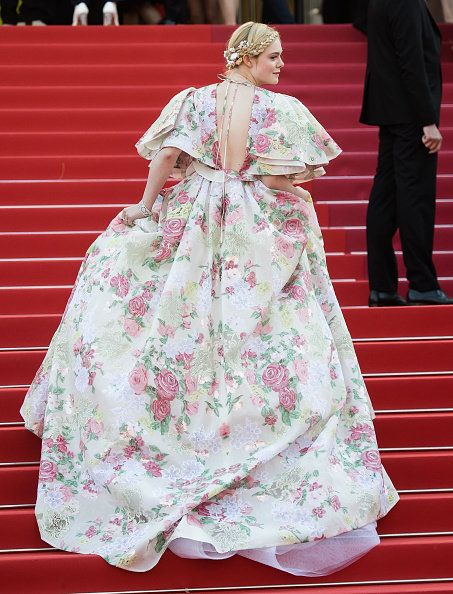 Pink, Clothing, Dress, Fashion, Costume, Joint, Tradition, Flooring, Gown, Textile,