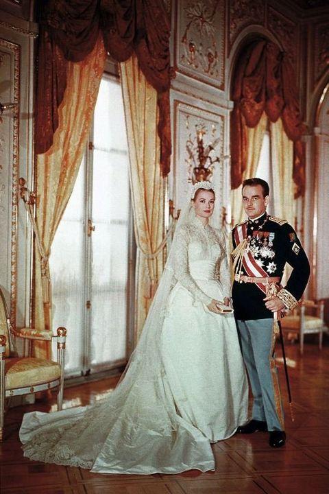 Wedding dress, Bride, Photograph, Gown, Dress, Bridal clothing, Veil, Wedding, Ceremony, Bridal accessory,
