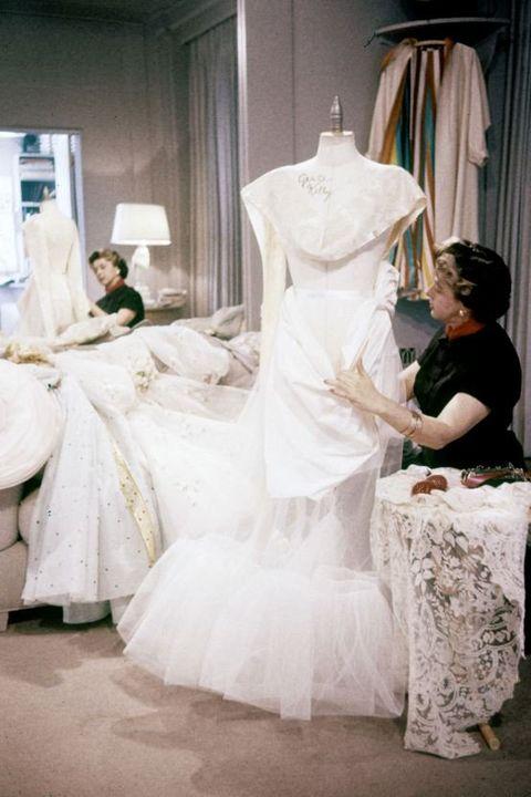 Wedding dress, Dress, Photograph, Gown, Clothing, Bridal clothing, Bride, Shoulder, Fashion, Bridal party dress,
