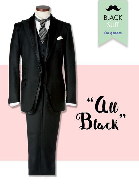 Suit, Clothing, Formal wear, Black, Tuxedo, Outerwear, Blazer, Font, Jacket, Pantsuit,