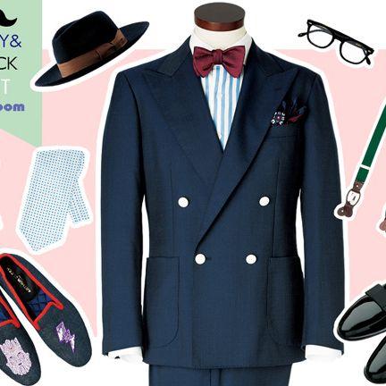 Suit, Clothing, Formal wear, Blazer, Outerwear, Tuxedo, Overcoat, Coat, Footwear, Collar,