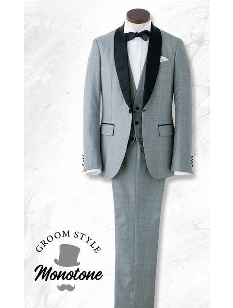 Suit, Clothing, Formal wear, Tuxedo, Outerwear, Blazer, Design, Tie, Pantsuit, Button,