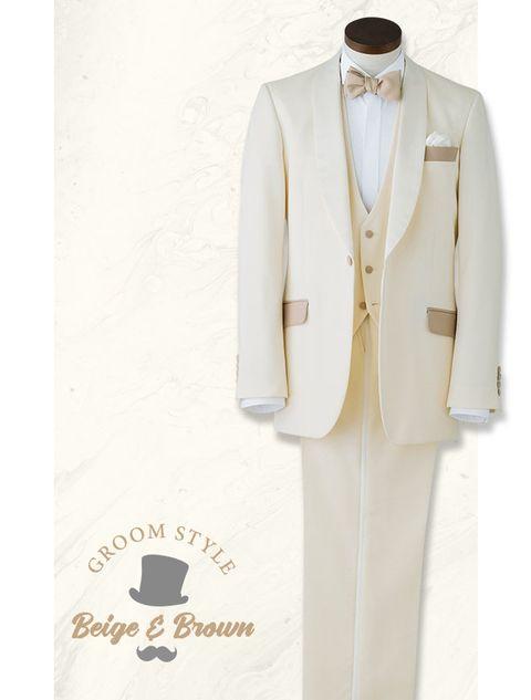 Suit, Clothing, White, Formal wear, Blazer, Outerwear, Tuxedo, Beige, Jacket, Button,