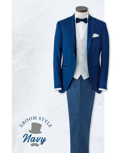Suit, Clothing, Formal wear, Blue, Outerwear, Blazer, Tuxedo, Jacket, Tie, Electric blue,