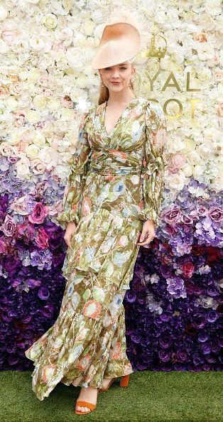 Clothing, Dress, Fashion, Pink, Lilac, Day dress, Fashion design, Gown, Spring, Pattern,