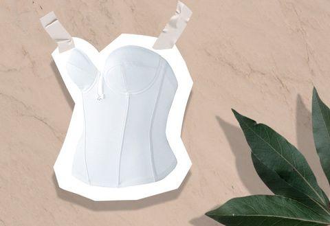 White, Sportswear, Undergarment,