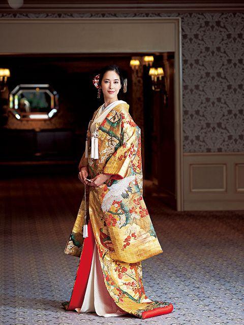 Floor, Flooring, Fashion, Temple, Kimono, Door, Street fashion, Costume, Tradition, Fashion design,