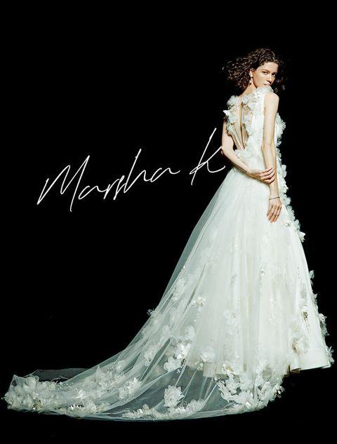 Gown, Dress, Wedding dress, Clothing, Fashion model, Bride, Bridal clothing, Formal wear, Bridal accessory, Fashion,