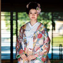Kimono, Clothing, Costume, Hairstyle, Street fashion, Fashion, Textile, Photography, Pattern, Fashion design,