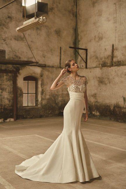 Gown, Wedding dress, Dress, Clothing, Bridal clothing, Bride, Bridal party dress, Photograph, Shoulder, Fashion model,