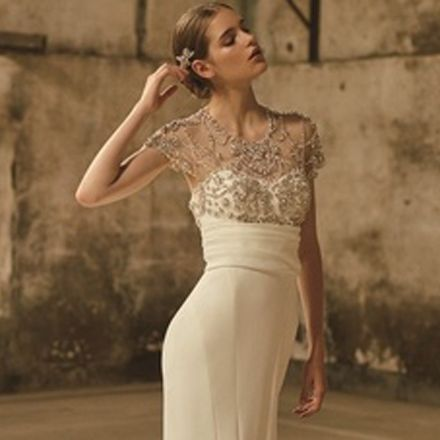 Clothing, Dress, Gown, Shoulder, Wedding dress, Neck, Fashion model, Fashion, Beauty, Waist,