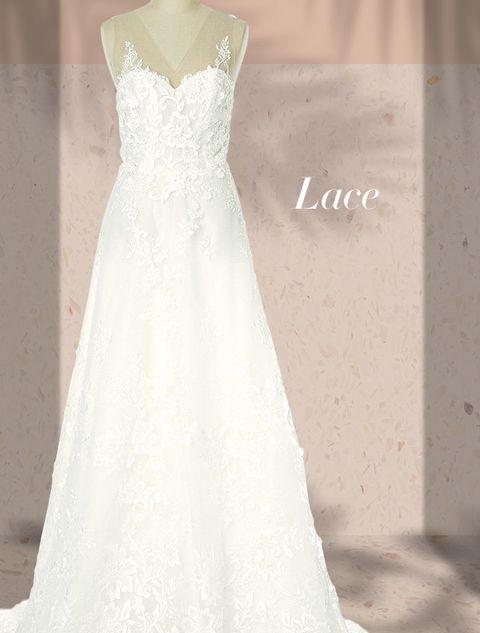Gown, Wedding dress, Clothing, Dress, Bridal party dress, Fashion model, Bridal clothing, Shoulder, Bride, A-line,