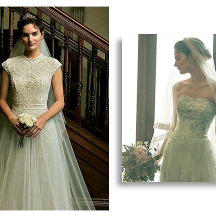 Gown, Clothing, Dress, Wedding dress, Photograph, Shoulder, Bridal party dress, Bridal clothing, A-line, Bride,
