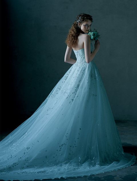 Gown, Wedding dress, Dress, Clothing, Bridal party dress, Bridal clothing, Photograph, Fashion model, Bride, Shoulder,