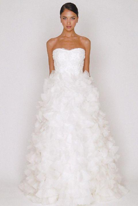 Clothing, Finger, Sleeve, Bridal clothing, Dress, Shoulder, Textile, Wedding dress, Photograph, Joint,