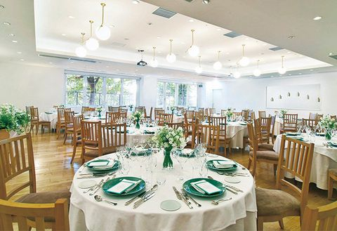 Restaurant, Function hall, Room, Decoration, Building, Table, Interior design, Wedding banquet, Banquet, Rehearsal dinner,