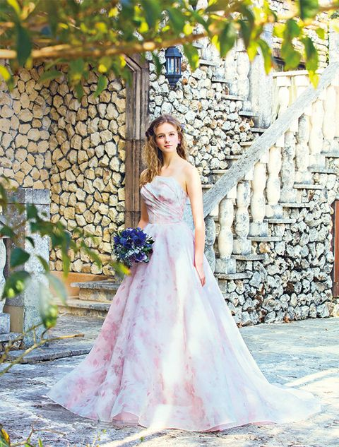 Gown, Bride, Clothing, Dress, Wedding dress, Photograph, Bridal clothing, Bridal party dress, Shoulder, A-line,