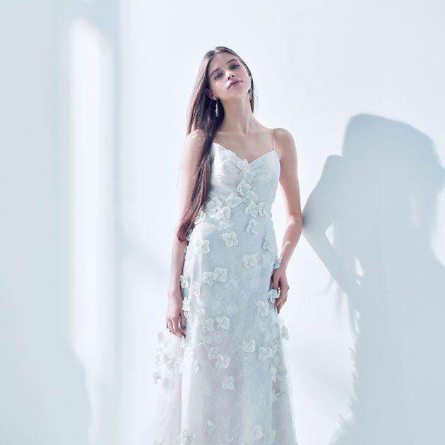 Gown, Wedding dress, Clothing, Dress, Fashion model, Bridal clothing, Shoulder, Photograph, Bride, Bridal party dress,