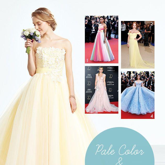 Gown, Clothing, Dress, Wedding dress, Bridal party dress, Photograph, Shoulder, Bridal clothing, A-line, Fashion model,