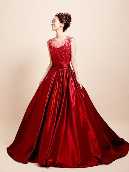 Dress, Sleeve, Shoulder, Textile, Red, Formal wear, One-piece garment, Style, Gown, Day dress,