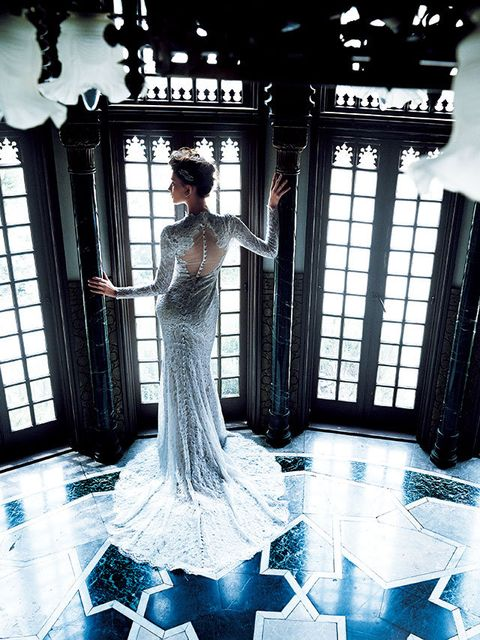 Blue, Photograph, Clothing, Dress, Gown, Fashion, Wedding dress, Bride, Photography, Formal wear,