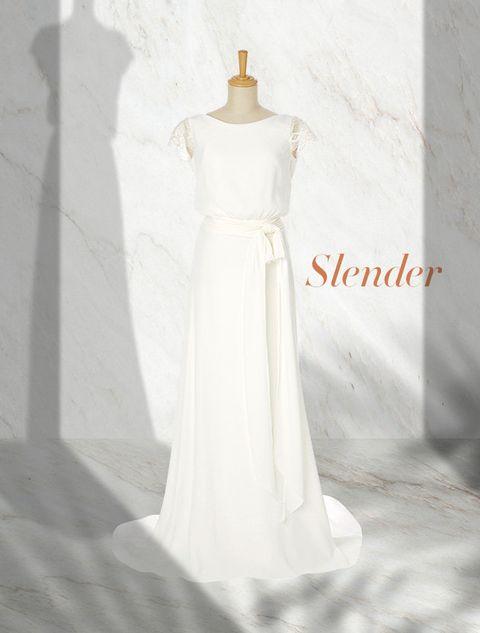 Clothing, Dress, Sleeve, White, One-piece garment, Gown, Formal wear, Wedding dress, Day dress, Bridal clothing,