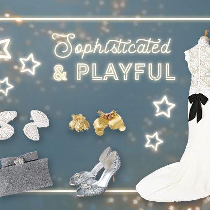 Dress, Footwear, Font, Gown, Wedding dress, Bridal clothing,