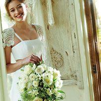 Bride, Wedding dress, Photograph, Dress, Gown, Bridal clothing, Clothing, Bouquet, Flower Arranging, Floristry,