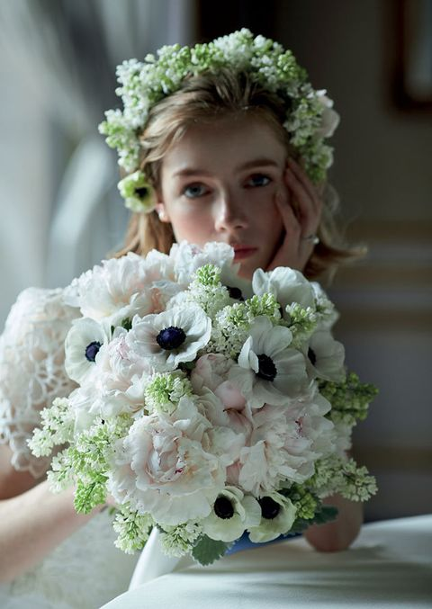 Bouquet, Flower, Cut flowers, Flower Arranging, Child, Plant, Floristry, Wedding ceremony supply, Floral design, Headpiece,