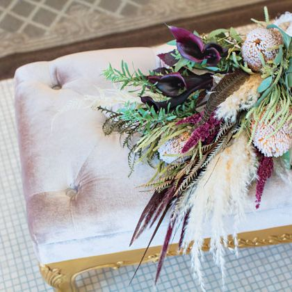 Flower, Plant, Gift wrapping, Feather, Textile, Artificial flower, Floral design, Twig, Fashion accessory,
