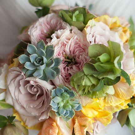 Flower, Bouquet, Cut flowers, Floristry, Flower Arranging, Floral design, Plant, Pink, Yellow, Garden roses,