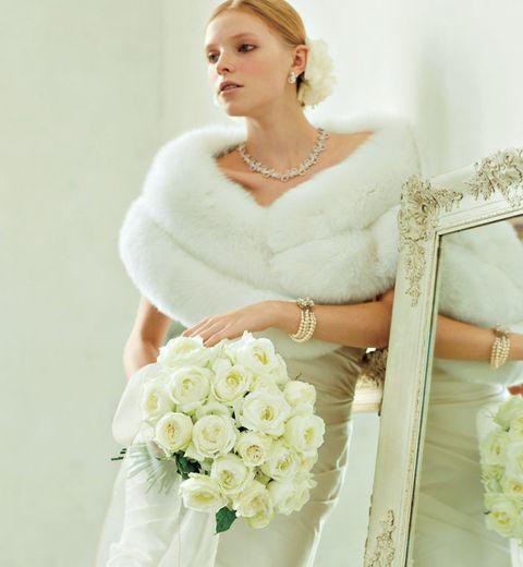 Wedding dress, Bride, White, Dress, Clothing, Photograph, Gown, Bridal clothing, Shoulder, Bridal party dress,