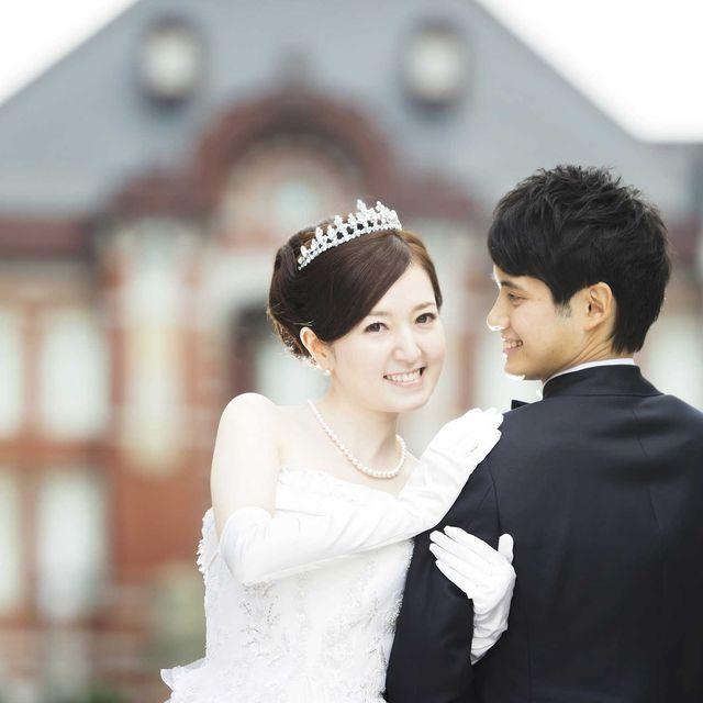 Photograph, Facial expression, Bride, Wedding dress, Skin, Veil, Beauty, Headpiece, Ceremony, Bridal clothing,