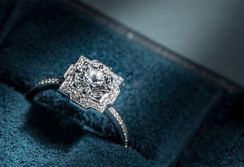 Ring, Engagement ring, Blue, Jewellery, Diamond, Fashion accessory, Gemstone, Wedding ring, Macro photography, Wedding ceremony supply,