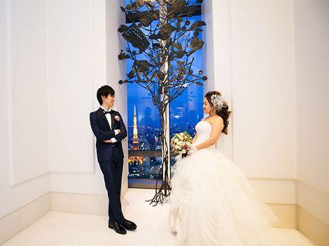 Blue, Photograph, White, Bride, Dress, Wedding dress, Gown, Ceremony, Bridal clothing, Wedding,