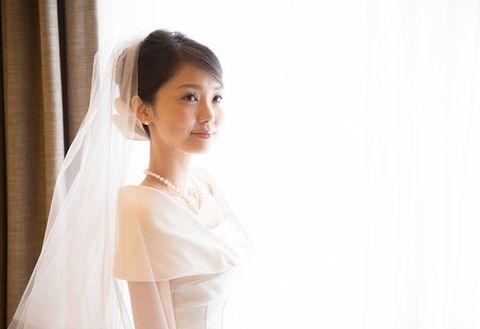 Veil, White, Photograph, Bridal veil, Bridal accessory, Bride, Skin, Wedding dress, Beauty, Dress,