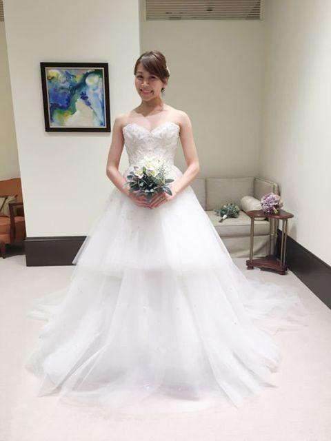 Gown, Wedding dress, Clothing, Dress, Bride, Bridal clothing, Photograph, Bridal party dress, Shoulder, Fashion model,