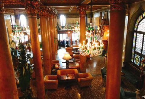 Room, Building, Interior design, Furniture, Antique, Restaurant,