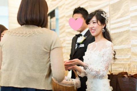 Photograph, Wedding dress, Dress, Ceremony, Yellow, Pink, Bridal clothing, Skin, Wedding, Bride,