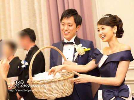 Event, Flower girl basket, Formal wear, Smile, Ceremony, Wedding ceremony supply, Happy, Dress, Basket, Bride,