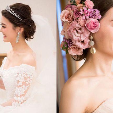 Hair, Bride, Headpiece, Photograph, Hair accessory, Hairstyle, Skin, Pink, Dress, Beauty,