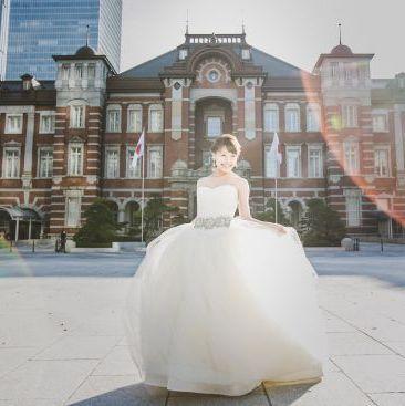 Wedding dress, Gown, Photograph, Bride, Dress, Bridal clothing, Clothing, Bridal accessory, Ceremony, Wedding,
