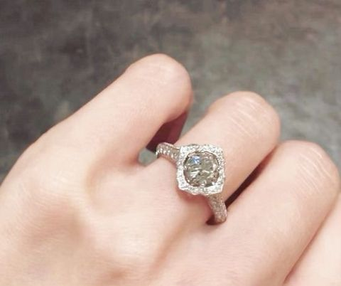 Jewellery, Ring, Engagement ring, Fashion accessory, Diamond, Gemstone, Wedding ring, Finger, Pre-engagement ring, Hand,