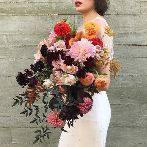 Flower, Bouquet, Flower Arranging, Floristry, Cut flowers, Floral design, Plant, Pink, Bride, Petal,