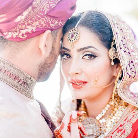 Bride, Skin, Pink, Tradition, Beauty, Mehndi, Peach, Design, Wedding dress, Ceremony,